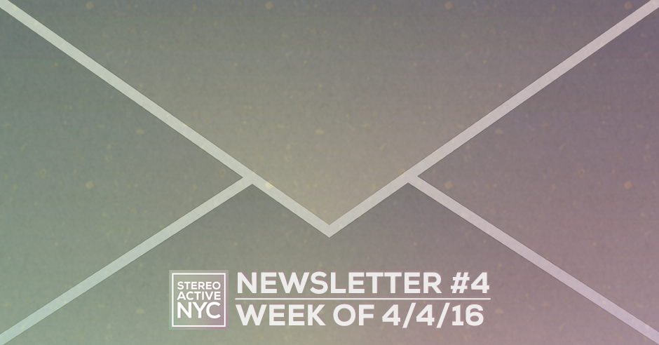StereoactiveNYC Newsletter #3 /// Interview: Alyse Lamb